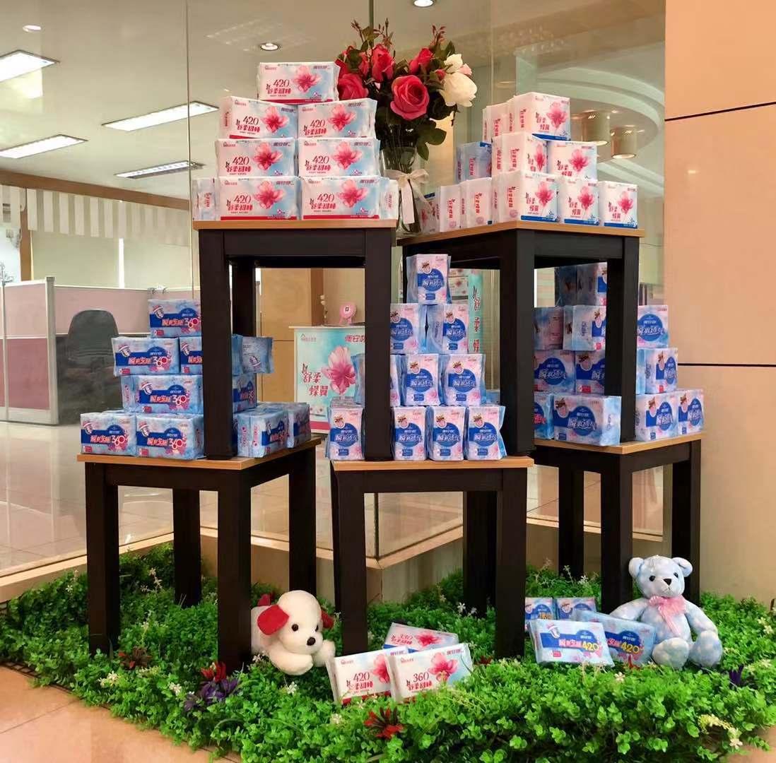 卫生巾OEM贴牌加工厂家:这家卫生巾企业旗下不止一个品牌哦!