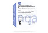 ISO9001证书(英文)--佩安婷