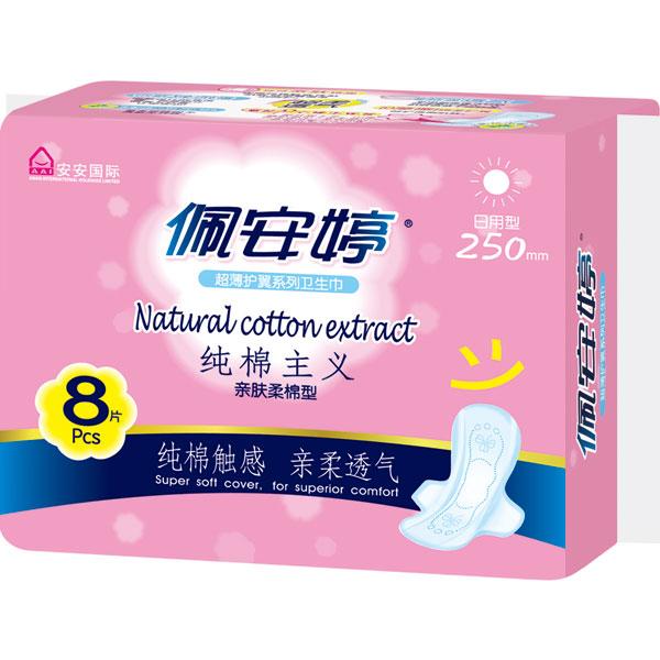 纯棉主义亲肤棉柔日用卫生巾PM01067