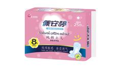 草本纯棉主义亲肤棉柔日用卫生巾PC01069
