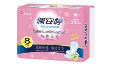 草本纯棉主义双效网棉日用卫生巾PC01070